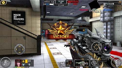 Tải game tập kích bắn súng android ios