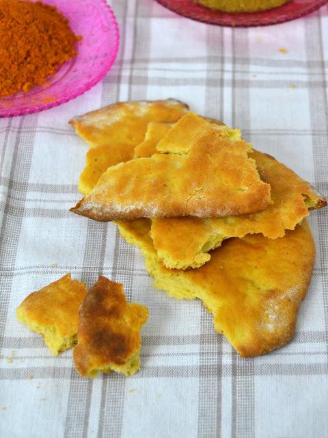 Pan indio o pan plano especiado