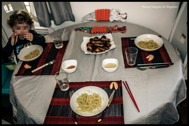 nouvel an chinois enfant