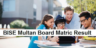 BISE Multan Board Matric Result 2018 - 9th & 10th Results