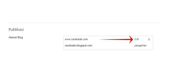 Cara Gampang Redirect non www ke www Blogger