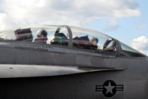 uss dwight d eisenhower F/A-18s