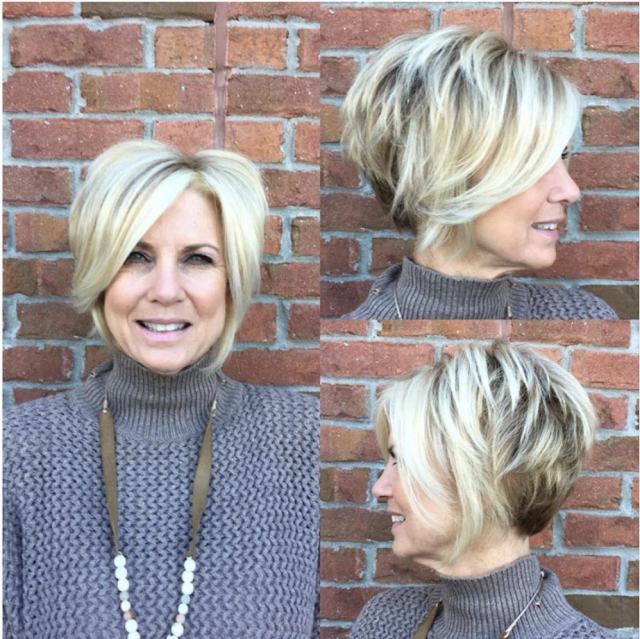 medium length hairstyles for fine hair over 50