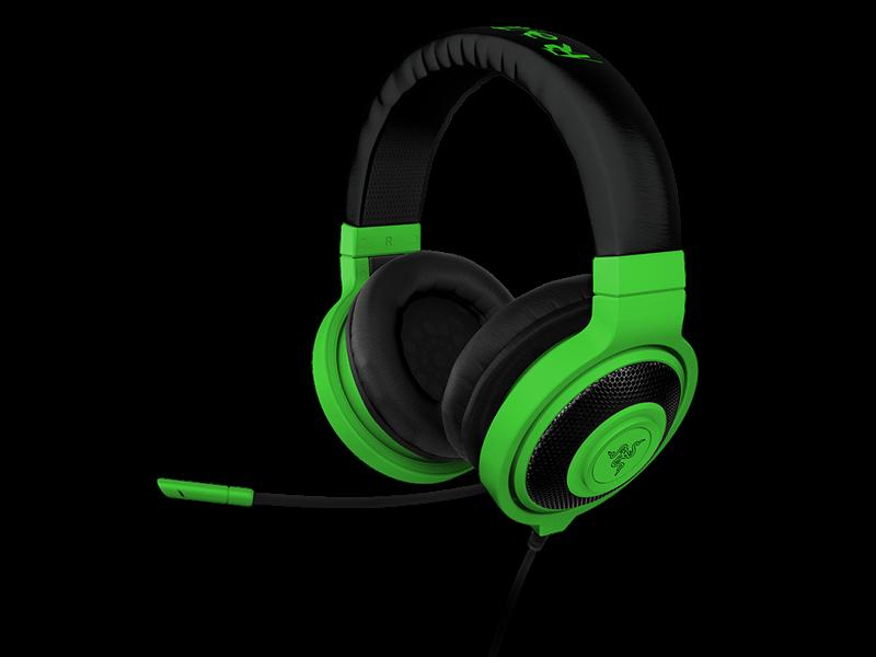 Razer Turns Up The Lights With Neon Kraken Series Headsets