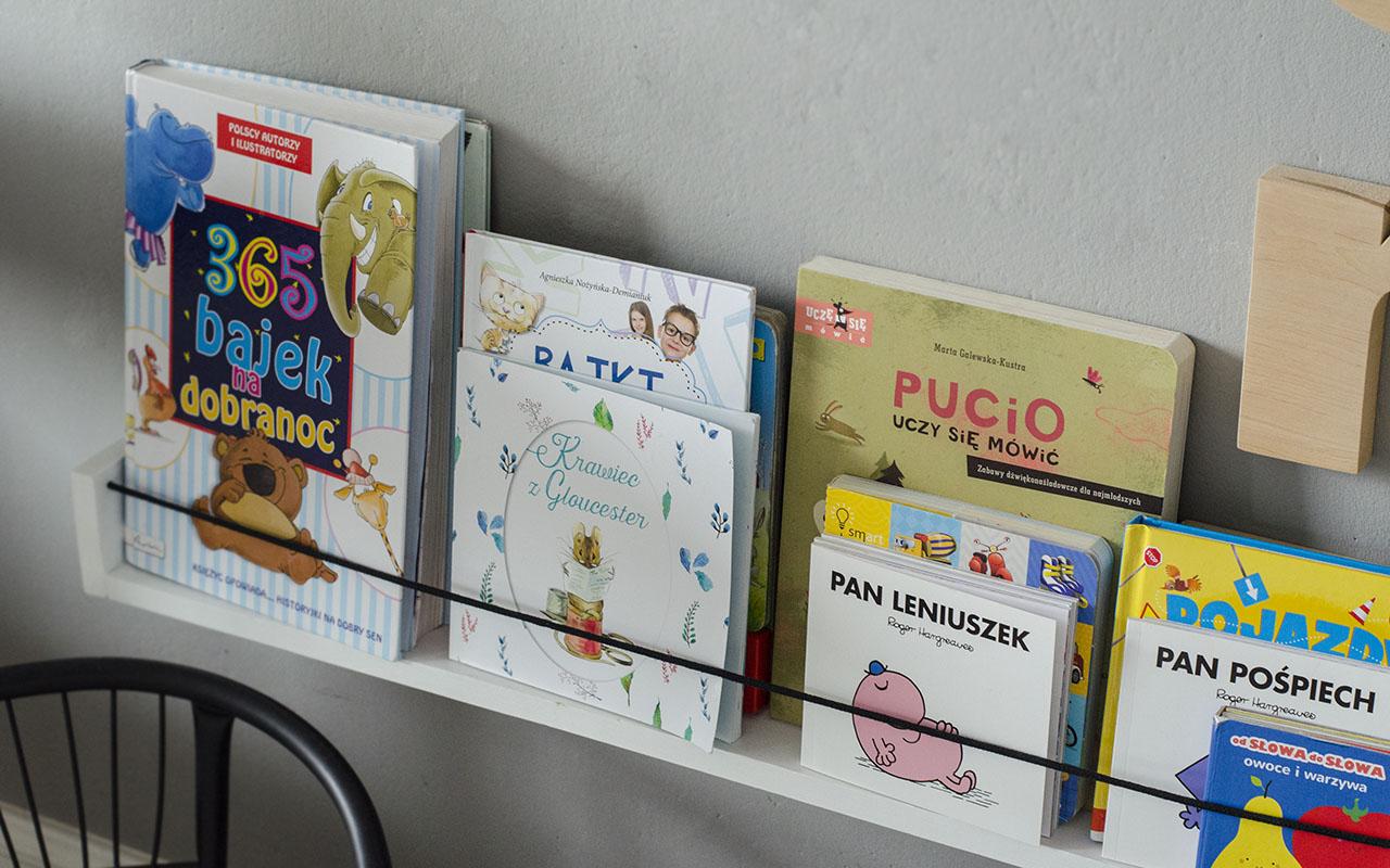 Diy Półka Na Dziecięce Książeczki Od Inspiracji Do