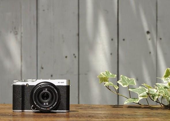 Fotografia ambientata della Fujifilm X-M1