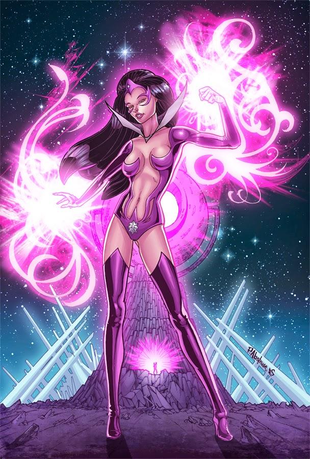 The Comics Girls: Star Sapphire