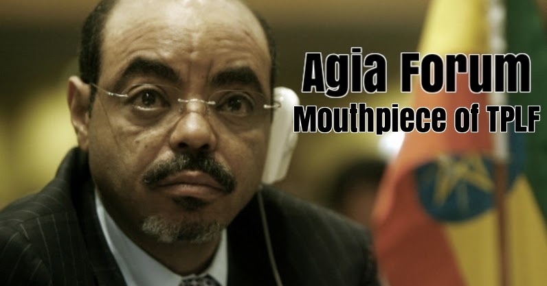 The Mouthpiece of TPLF, Aiga Forum, Goes Berserk. - Madote