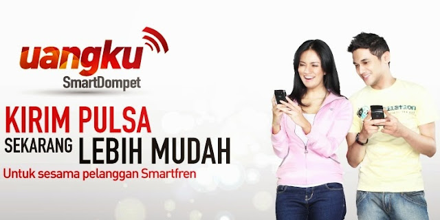 cara transfer pulsa smart