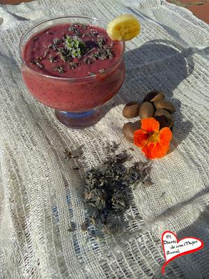 Pudin de fresas con chía