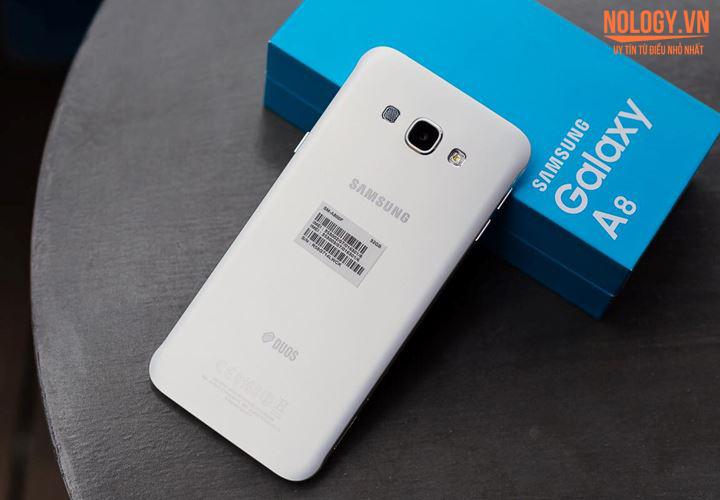Samsung Galaxy A8 - smartphone siêu mỏng màn hình rộng