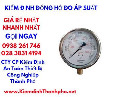 thời gian hoàn thành kiểm định đồng hồ đo áp suất