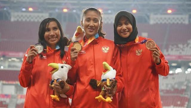 Tiga Sprinter Putri Indonesia Kuasai Podium Lari 100 M, Emas Milik Putri Aulia