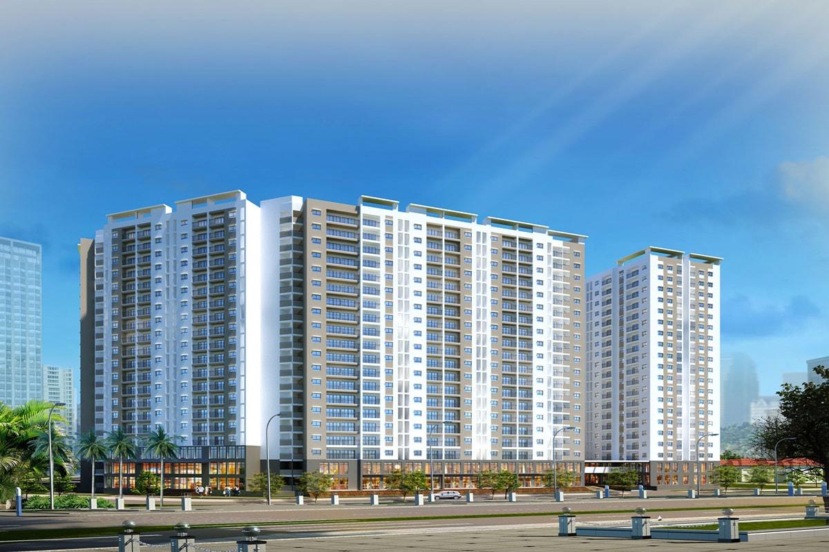 Tổng thể dự án Hope Residence Phúc Đồng