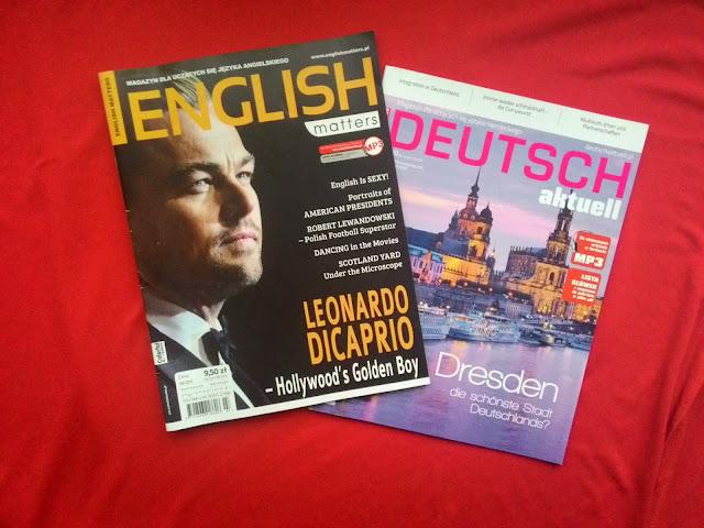 Detektyw Książkowy i magazyny językowe!