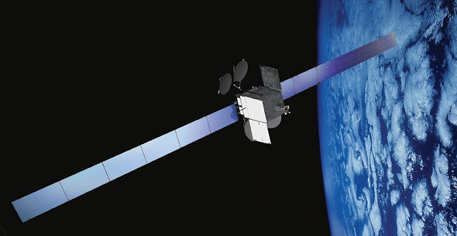 SES-9 satellite. Credit: Boeing