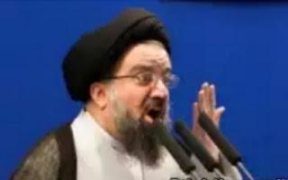 "A member of Iran's powerful assembly of experts and conservative ayatollah Ahmad Khatami bemoaned the""de-Islamization"" of Iran during his Friday Prayers sermon."