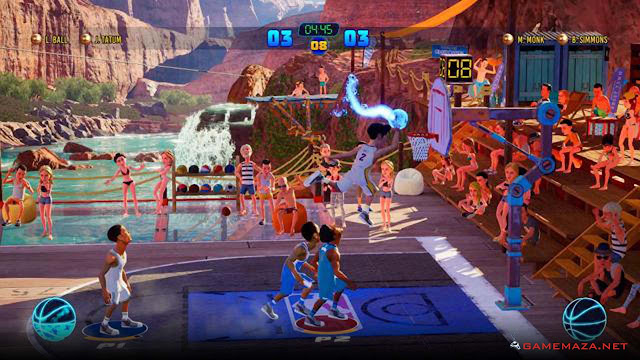 NBA 2K Playgrounds 2 Gameplay Screenshot 1