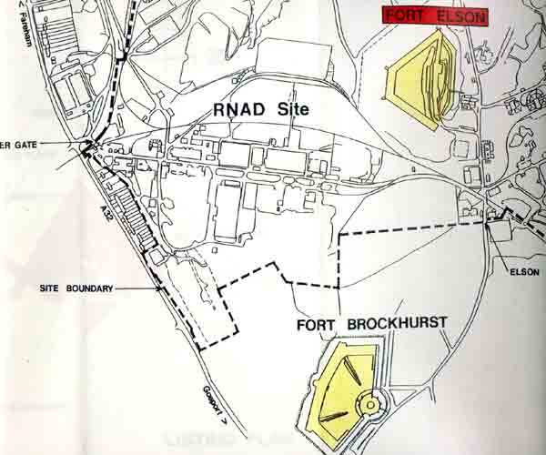 Map of RNAD site