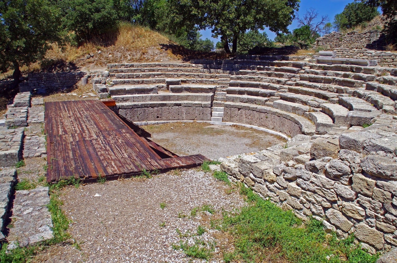 Amphitheater in Troy