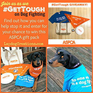 #GetTough ASPCA anti dog fighting campaign