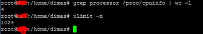 Jumlah Work connection dan worker processor