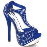 Blue Sparkles Dream Shoes