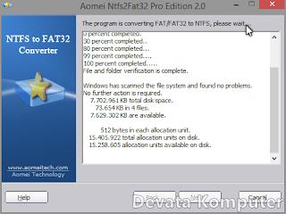 Cara, Convert, NTFS, FAT32, Sebaliknya, Tanpa, Format
