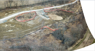 woodlands and wetlands being cleared for 5 fracking waste wells in Ohio