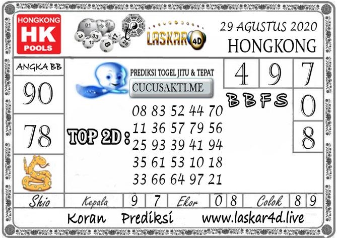 Prediksi Togel HONGKONG LASKAR4D 29 AGUSTUS 2020Prediksi Togel HONGKONG LASKAR4D 29 AGUSTUS 2020