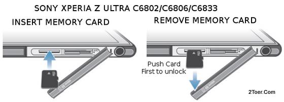 2Toer: Sony Xperia Z Ultra C6802/ C6833/ C6806 Hard Reset, Force