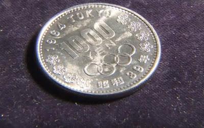 moeda de mil ienes