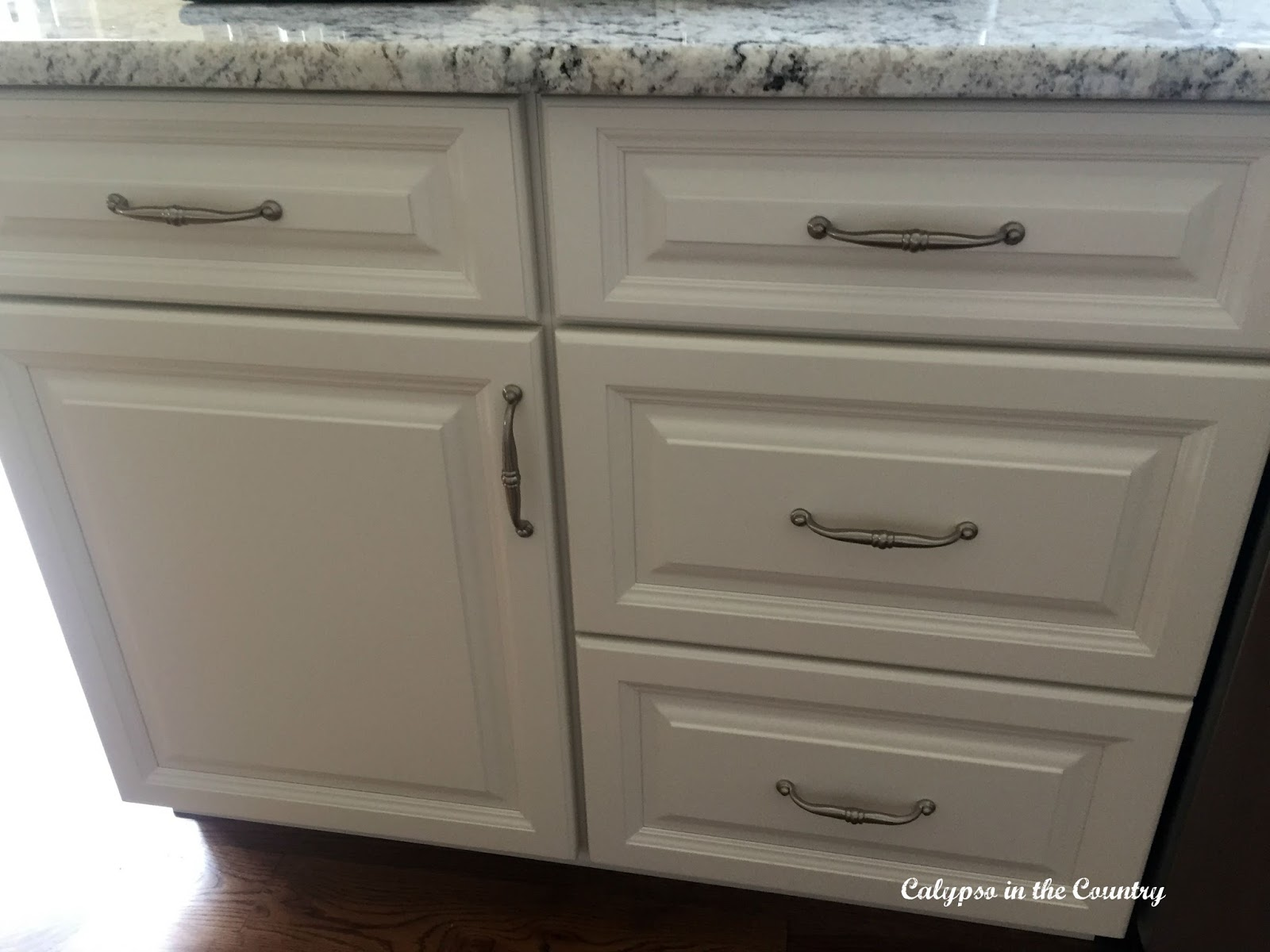 cabinet hardware and the latest dilemma calypso in the