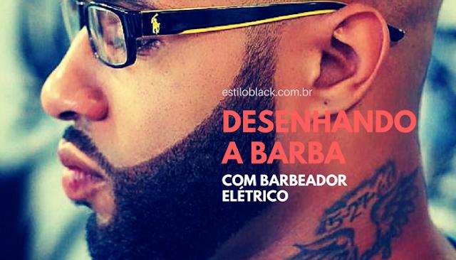 Como desenhar a barba com barbeador elétrico em casa