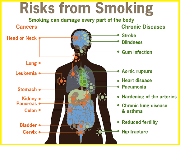 Smoking Side Effects How Smoking Affects Your Health