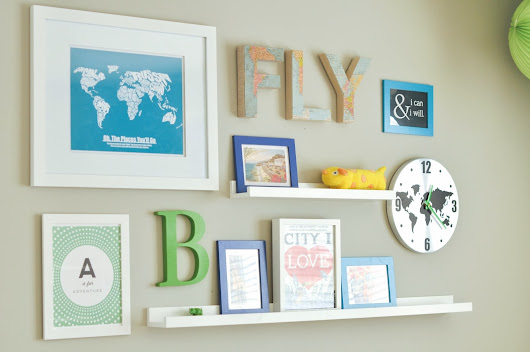 More Lovely Ideas for a Toddler Boy Room