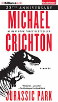 Jurassic Park by Michael Crichton, read by Scott Brick
