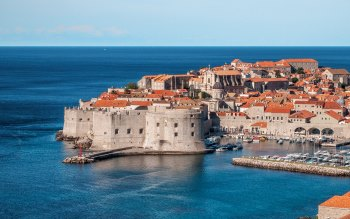 Wallpaper: Europe Croatia Town Dubrovnik