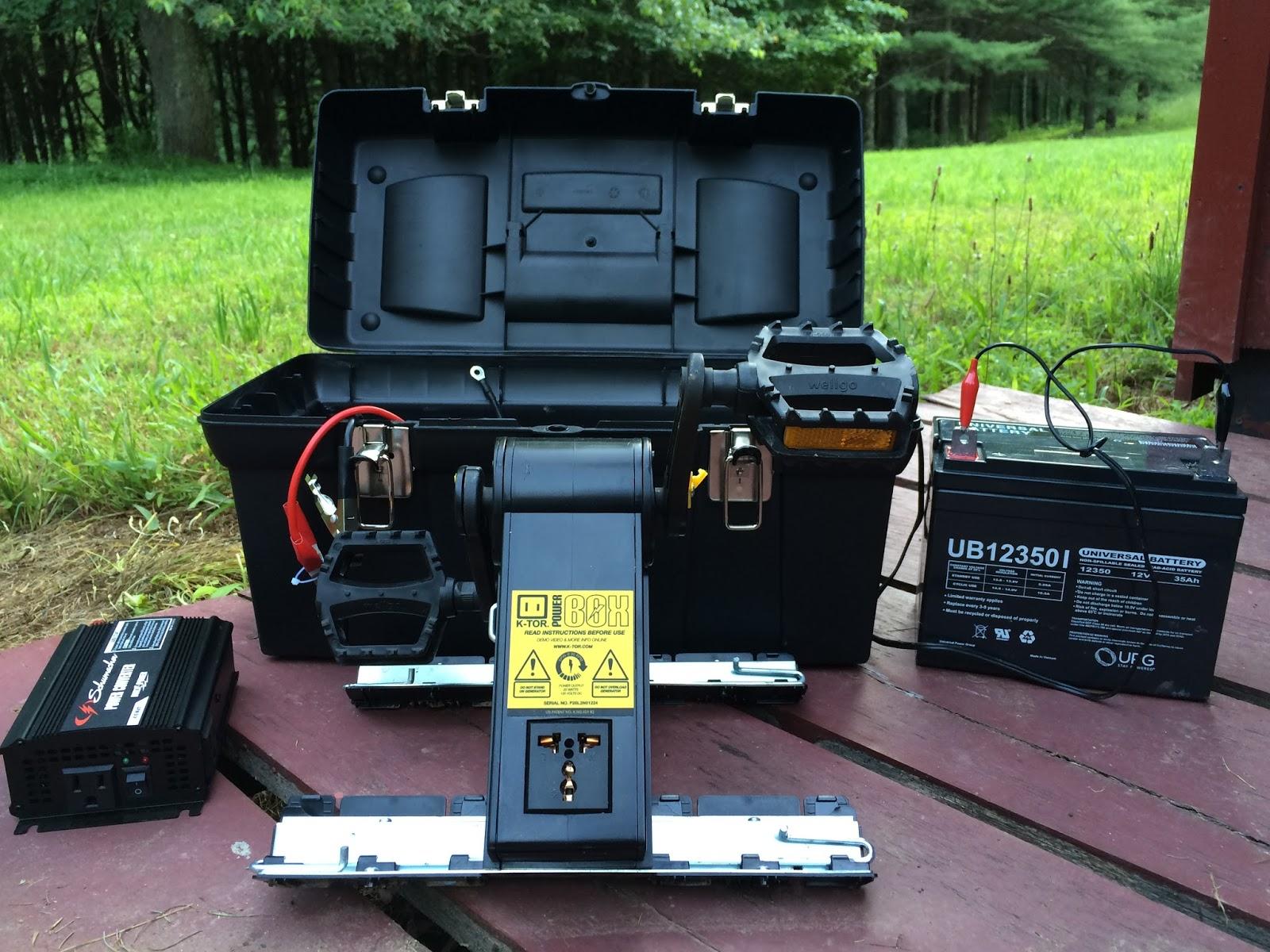 Work n Man s Life Power Box Human Powered generator by K TOR