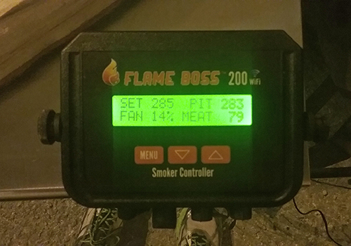 Flame Boss 200 controller for competitions