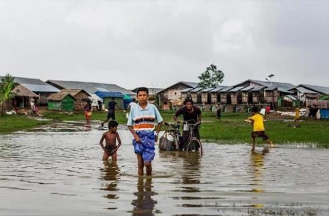 Myanmar banjir 360 ribu mengungsi