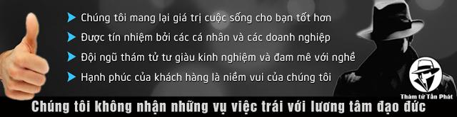 Thám tử giá rẻ tại Quận 2 Sài Gòn TPHCM
