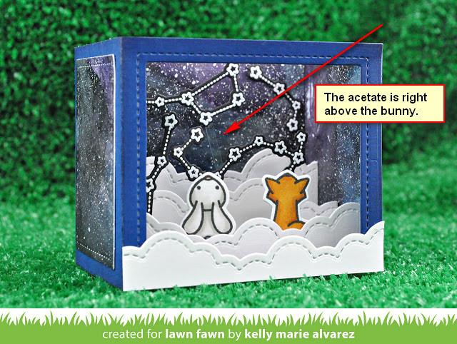 Lawn Fawn SHADOW BOX CARD Dies Lawn Cuts Die Set LF1486
