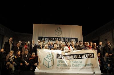 """MANIFIESTO Cónclave Social """"La Ciudadanía Decide"""" #PlebiscitoAhora / Asamblea Constituyente"""