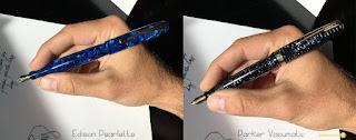 Edison Pearlette Lapis Lazuli Fountain Pen - a Video Review