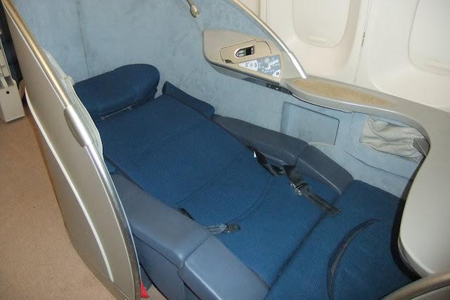 ビジネスクラスシート Business Class seat