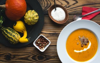 Wallpaper: Pumpkin Soup