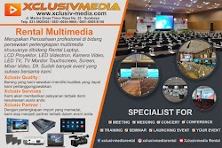 Pusat Jasa Rental Multimedia Surabaya (Proyektor,Screen, LED TV, TV Touchscreen, dan Videotron)