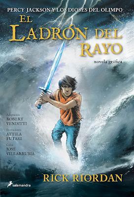 Percy Jackson Y Los Dioses Del Olimpo I: El Ladrón Del Rayo, de Rick Riordan [Novela Gráfica]