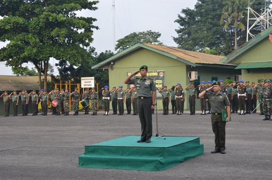 Kasrem 044/Gapo Pimpin Upacara Bendera 17an
